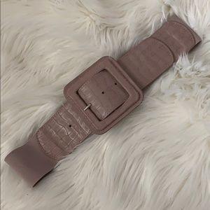 NY & Co pink wife belt
